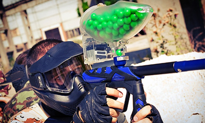 Martin City Sports Complex - Kansas City: Paintball for Four, Six, or Eight Including Equipment at Martin City Sports Complex (Half Off)