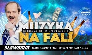 Muzyka na fali: Od 55 zł: bilet na koncert Sławomira w Hali Sportowo-Widowiskowej Gdynia Arena
