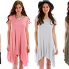 Lyss Loo Women's Oversized T-shirt Tunic Dress