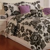 6-Piece Damask Floral Comforter Set