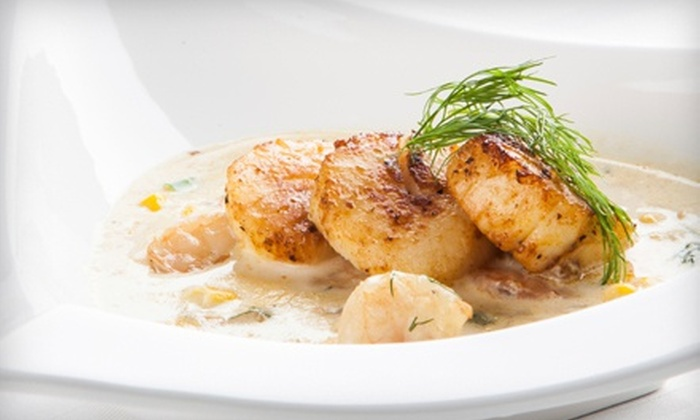 Bistro 1902 - Downtown Hollywood: $37 for $87 Worth of French Dinner Cuisine for Two with Unlimited House Wine and Champagne at Bistro 1902
