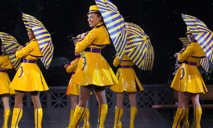 "New York Spring Spectacular  - Madison Square Garden: Derek Hough, Laura Benanti, and Rockettes in ""New York Spring Spectacular"" on April 3–25 (Up to 50% Off)"