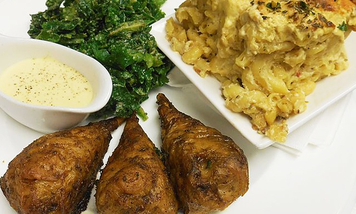 Evolve Vegan Restaurant - Takoma - DC: Vegan Soul Food for Two or Four at Evolve Vegan Restaurant (40% Off)