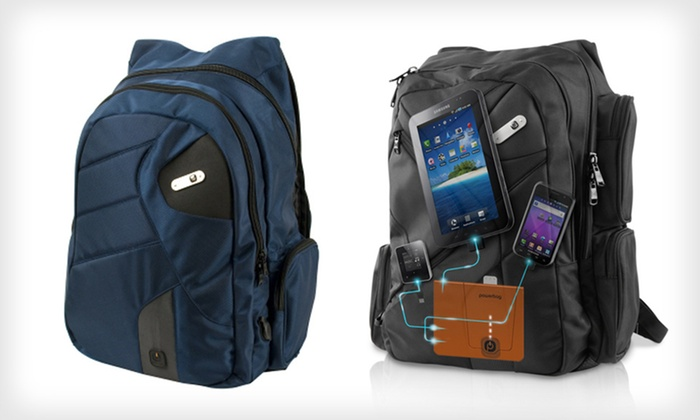 Powerbag Gadget-Charging Bags: Powerbag with Built-in Battery System (Up to 68% Off). Six Options Available. Free Shipping and Free Returns.