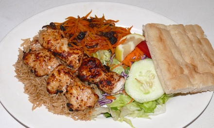 Kebabs, Stew, and Tandoori Meats for Two or Four at Afghan Kebab House (43% Off)