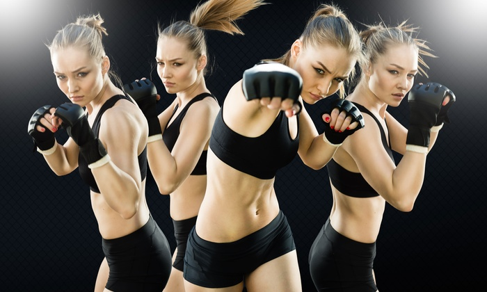 Shred-It Kickboxing - Multiple Locations: Two or Four Weeks of Unlimited Kickboxing Classes at Shred-It Kickboxing in Plainville or Waltham (Up to 74% Off)