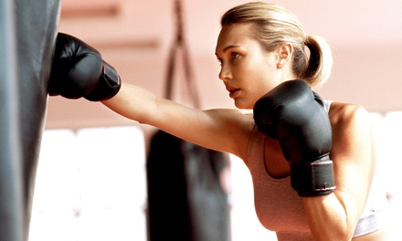 5, 10, 20, or One Month of Unlimited Kickboxing Classes at Fight Club Austin (Up to 74% Off)