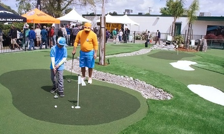 $25 for a 10-Visit Putting Course Card at Haggin Oaks Golf Complex ($50 Value)