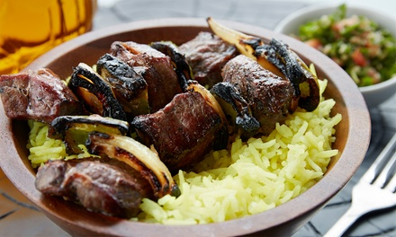 Mediterranean Food for Two or Four at Kaza Maza Mediterranean Grill (40% Off)