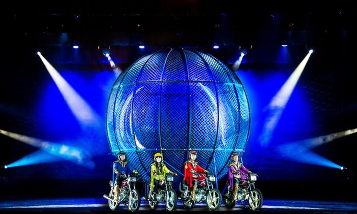 """Amazing Acrobats of Shanghai""  - New Shanghai Theatre: Amazing Acrobats of Shanghai on December 6–20"