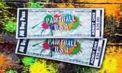 Up to 90% Off at Paintball USA Tickets