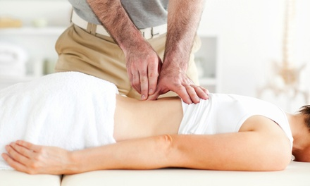 Chiropractic Care with Optional Microcurrent Stimulation at Davis Chiropractic (79% Off). Three Options Available.