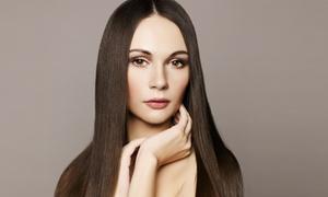 Simon Stylez Hair & Makeup: Haircut with Olaplex Treatment or Full Color at Simon Stylez Hair & Makeup (Up to 67% Off)