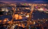 Elite Aviation - North Las Vegas Airport: $144 for a Helicopter Tour of The Stripand a Vegas Show for Up to Three from Elite Aviation ($289 Value)