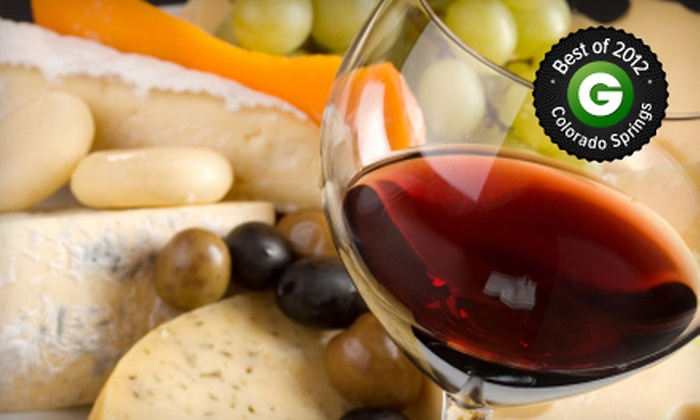 D'Vine Wine - Multiple Locations: Wine-and-Cheese Tasting for Two or Four at D'Vine Wine (Up to 58% Off)