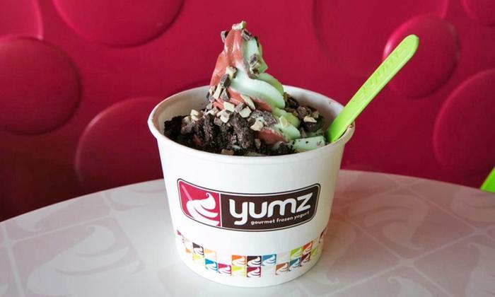 Yumz Gourmet Frozen Yogurt - Bolingbrook: $5 for $10 Worth of Frozen Yogurt at Yumz Gourmet Frozen Yogurt