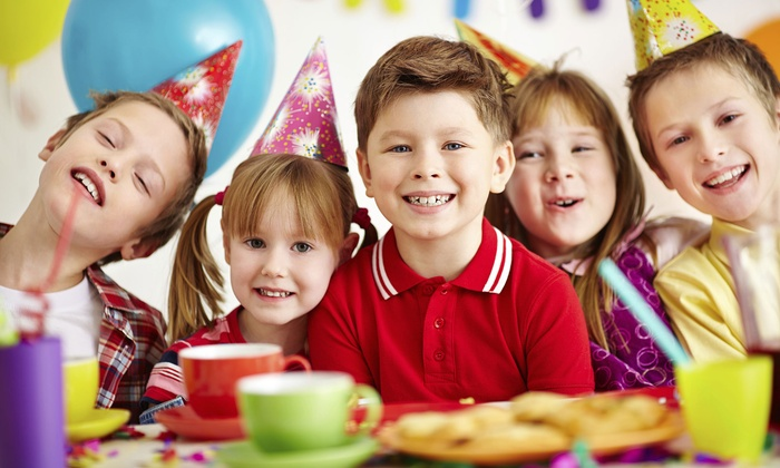 Celebrate It's My Party - Rutherford: Party Package for 12 Kids with Option for Pinata and Popcorn Machine at Celebrate It's My Party (Up to 51% Off)