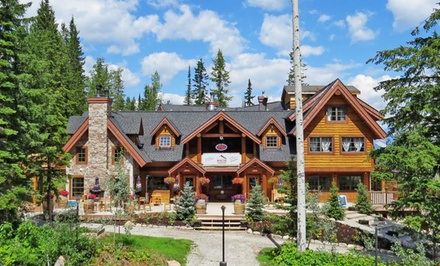 2-Night Stay for Two in a Silver or Golden Room at Winston Lodge & Spa in Golden, BC. Combine Up to 10 Nights.