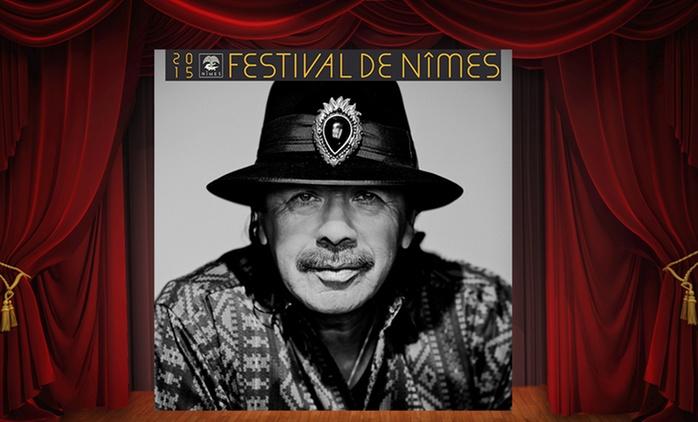 Le concert de Santana aux arènes de Nîmes le 16 juillet à partir de 29€