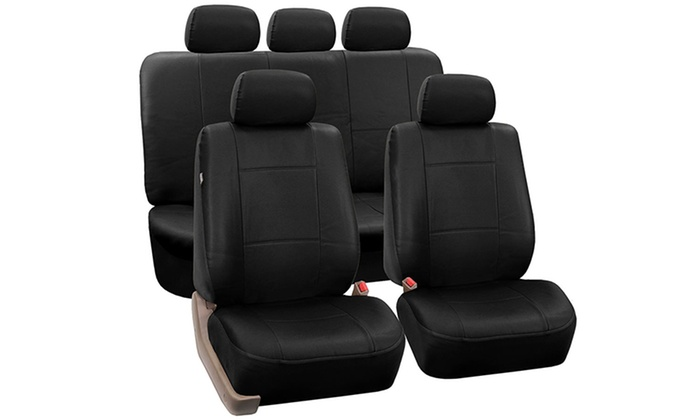 Set Of Polyurethane Leather Car Seat Covers