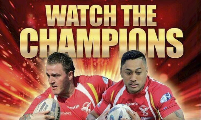 Sheffield Eagles RLFC - Owlerton Stadium: Sheffield Eagles v Workington Town Rugby Ticket With Programme and Hot Dog for £10.99 (Up to 44% Off)