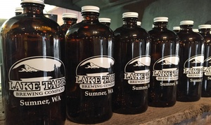 Lake Tapps Brewing Company: Beer Flights and Growlers with Fills for One, Two, or Four at Lake Tapps Brewing Company (Up to 44% Off)