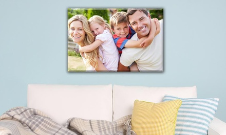 Personalized Picture on Canvas from MyPix2.com