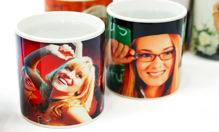 Personalized Photo Mugs from Printerpix from $7.99–$9.99