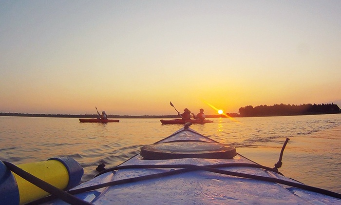 Mahanaim Adventures - Wilmington: Sunset Kayaking Trip with a Picnic Dinner for Two or Four from Mahanaim Adventures (Up to 50% Off)