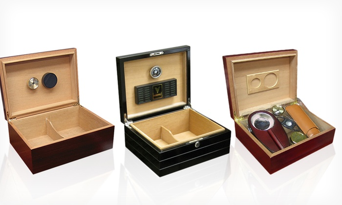 Prestige Import Humidors: Prestige Import Group Desktop Humidor, Travel Humidor, or Humidor Gift Set (Up to 78% Off). Free Shipping and Returns.