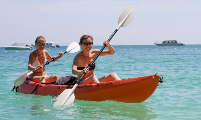 Mobile Kayaks - Tampa Bay Area: Two or Four Hours of a Single Kayak or Paddle Board Rental for One Person at Mobile Kayaks (Up to 55% Off)
