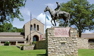 Will Rogers Memorial Museum: Admission for Two or Four Adults with $6 or $12 Store Credit at Will Rogers Memorial Museum (Up to 50% Off)