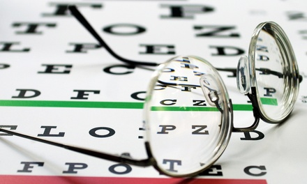 Eye Exam with Option for $150 Towards Prescription Glasses at True Vision Optical (Up to 82% Off)