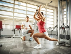 Custer Fitness: Four Personal Training Sessions with Diet and Weight-Loss Consultation from Custer Fitness (65% Off)