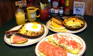 Egg Works: Country-Style Breakfast or Lunch at Egg Works (35% Off). Two Options Available.