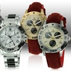 GF Ferré Men's Swiss-Made Chronograph Watches
