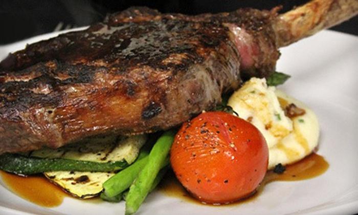 Gaslight Grill - Kansas City: Steak-House Dinner or Buffet Brunch at Gaslight Grill in Leawood (Half Off)