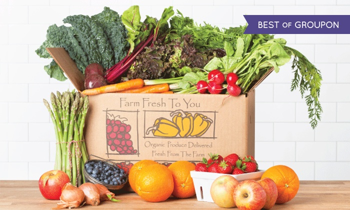 Farm Fresh To You - San Francisco: $17 for $33 Worth of Delivered Organic Produce from Farm Fresh To You