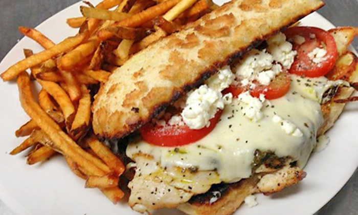 The Squared Circle - DePaul: Pizza and Burgers at The Squared Circle (47% Off). Two Options Available.
