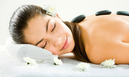 Spa Package for One or Two with Mani or Pedi, Facial, and Massage at Guys N Gals Hair (Up to 47% Off)