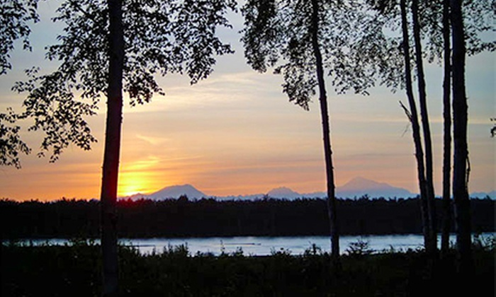 Montana Creek Campground - Talkeetna: One Night at a Regular or Premium Dry Campsite at Montana Creek Campground (Up to 61% Off)