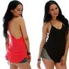 Lyss Loo Women's Plus-Size Y-Back Tank Top