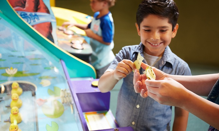 Play Atlantis - Melvindale: Weekday Family Fun Center Outings with Pizza and Pop at Play Atlantis (Up to 43% Off)