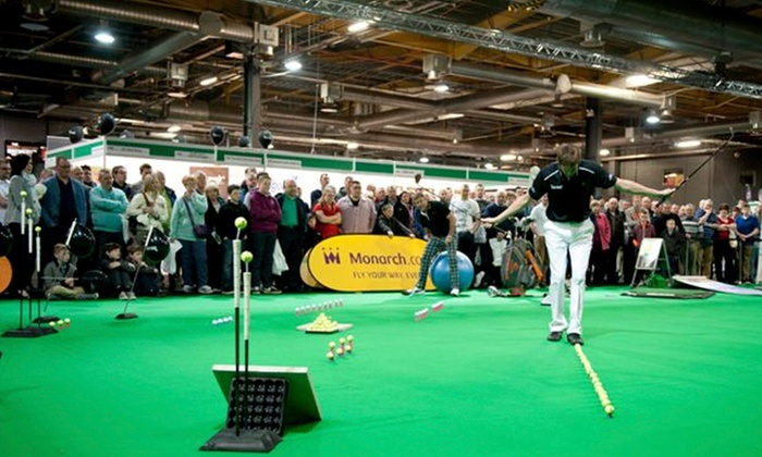 Manchester Golf Show - Manchester: The Manchester Golf Show 2014: One Ticket for £7.50 at EventCity (35% Off)
