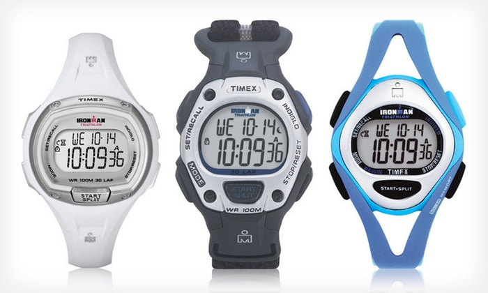 Timex Ironman Watches: $14.99 for Men's, Women's, and Unisex Timex Ironman Watches (Up to $79.99 List Price). 11 Options Available.
