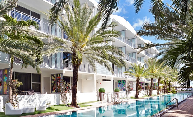 The National Hotel Miami Beach - Miami Beach: Stay with Food and Beverage Credit at The National Hotel Miami Beach in Miami Beach, FL. Dates into January.