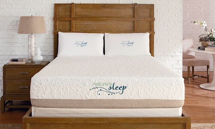 Nature's Sleep: Gel Memory-Foam Mattresses with Shipping Included from Nature's Sleep (Up to 75% Off). Four Options Available.