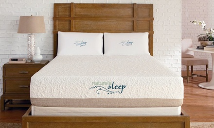 Gel Memory-Foam Mattresses with Shipping Included from Nature's Sleep (Up to 75% Off). Four Options Available.