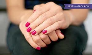 American Nails Style: $40 for a Gel Manicure with Hot Stone Pedicure at American Nails Style ($65 value)