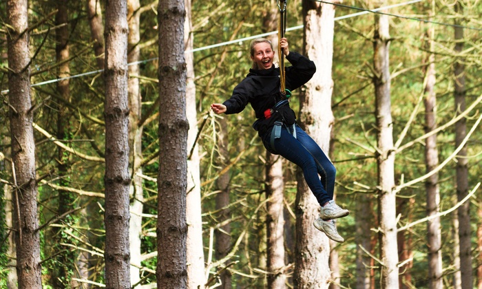 Nature's Boot Camp - Carrollwood: Zip-Lining Pass for Two, Four, or Six at Nature's Boot Camp (50% Off)